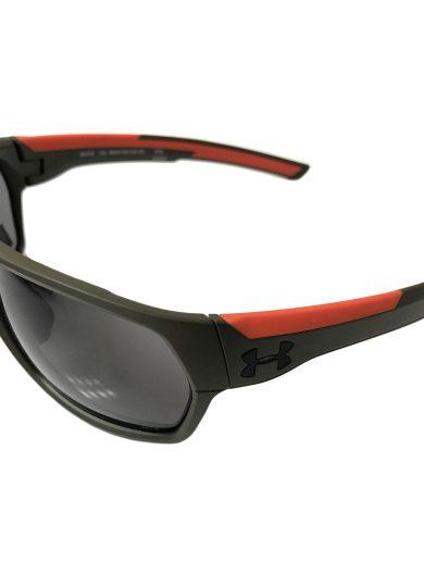 Under Armour Shock Sunglasses UA - Matte Rough Green ANSI Z87 Gray