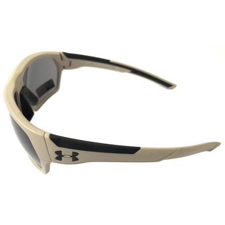 Under Armour Shock Sunglasses UA - Matte Sand ANSI Z87 Gray