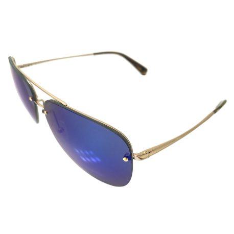 Kaenon Mather Aviator Sunglasses - Gold w/ Tortoise - POLARIZED Blue Lens