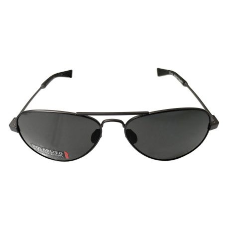 Under Armour Getaway Sunglasses UA - Black Storm - POLARIZED Gray