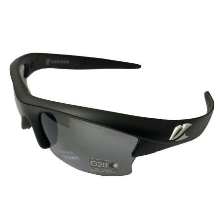 Kaenon Soft Kore S-Kore - Matte Black White G28 POLARIZED Grey