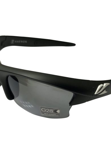 Kaenon Soft Kore S-Kore - Matte Black White G28 POLARIZED Grey