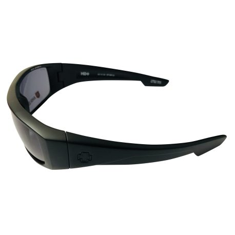 Spy Optic Logan Sunglasses - Matte Black Z87.1 ANSI HD Plus Gray Green