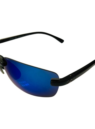 Kaenon Coto Sunglasses - Black Frame - POLARIZED Pacific Blue SR-91 Lens