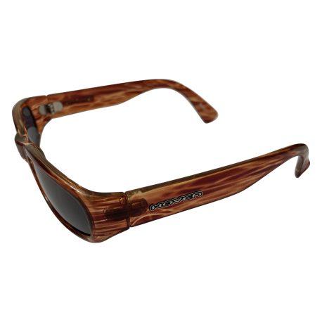 Hoven Vision Navi Sunglasses - Jagged Tortoise Brown - Grey Lens