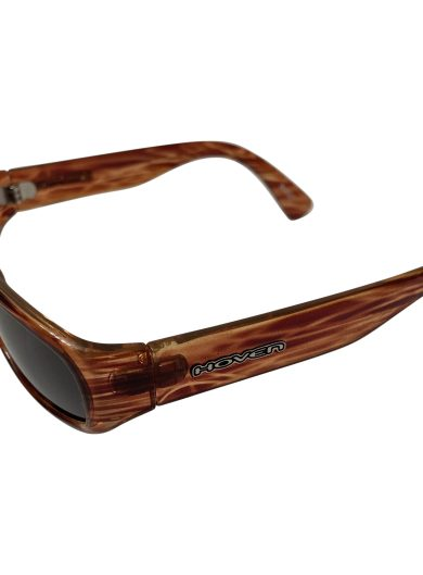 Hoven Vision Navi Sunglasses - Jagged Tortoise Brown - Grey Lens