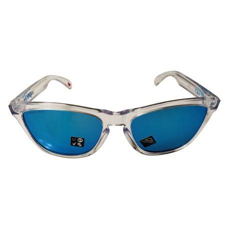 Oakley Frogskins Sunglasses - Crystal Clear - Prizm Sapphire Iridium OO9013-D055