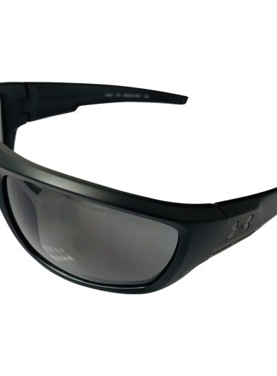 Under Armour Prevail Sunglasses UA - Satin Black POLARIZED Gray Lens