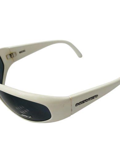 Hoven Vision Moxi Sunglasses - Gloss White Frame - Grey Lens