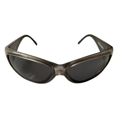 Hoven Vision Moxi Sunglasses - Silver Frost w/ Black Frame - Grey Lens