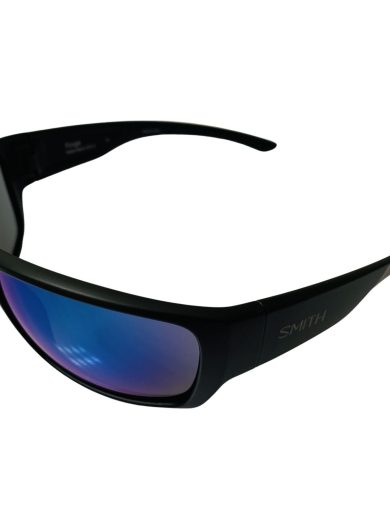 Smith Forge Sunglasses - Matte Black Evolve™ Bio-Based Frame - Blue Mirror Lens