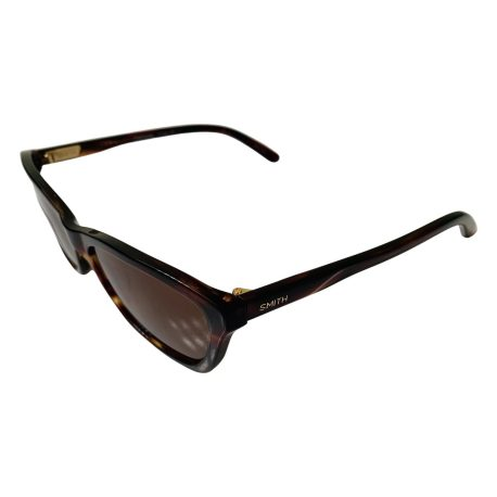 Smith The Getaway Sunglasses - Tortoise Brown Cateye Style Frame - Polarized Brown Lens