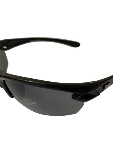 NEW Optic Nerve Voodoo Sunglasses - Shiny Black POLARIZED Smoke Lens