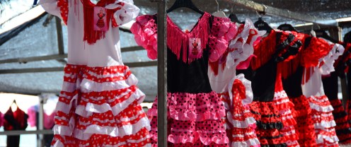 Flamenco frocks