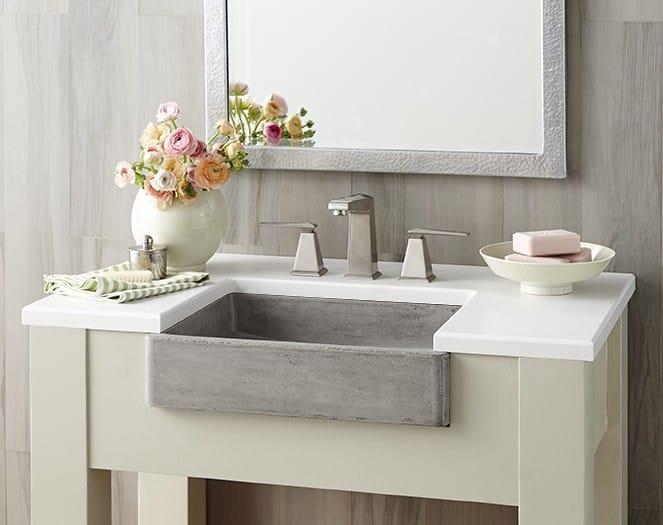 nativestone concrete bathroom sinks