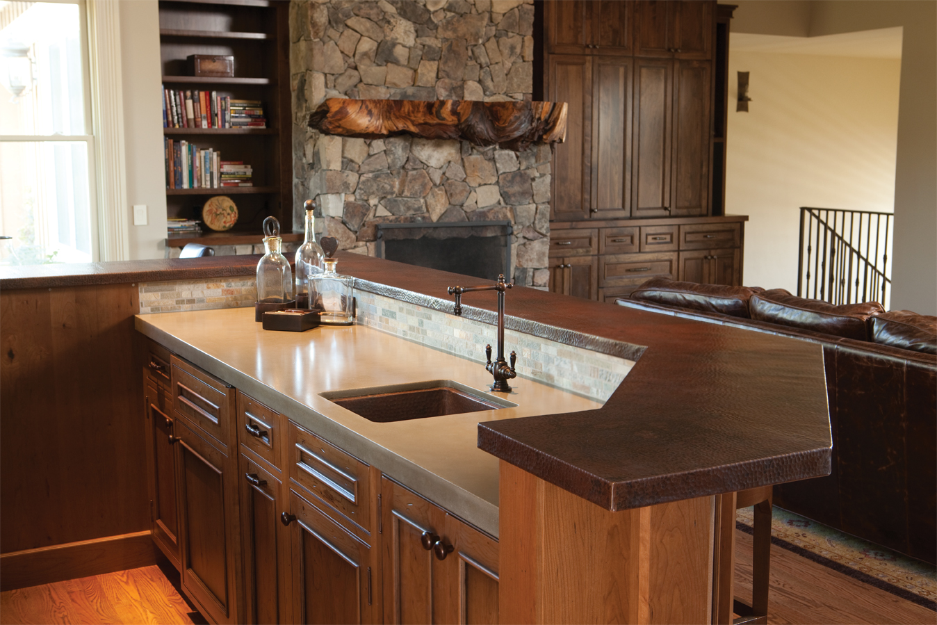 create a wow worthy wet bar with native