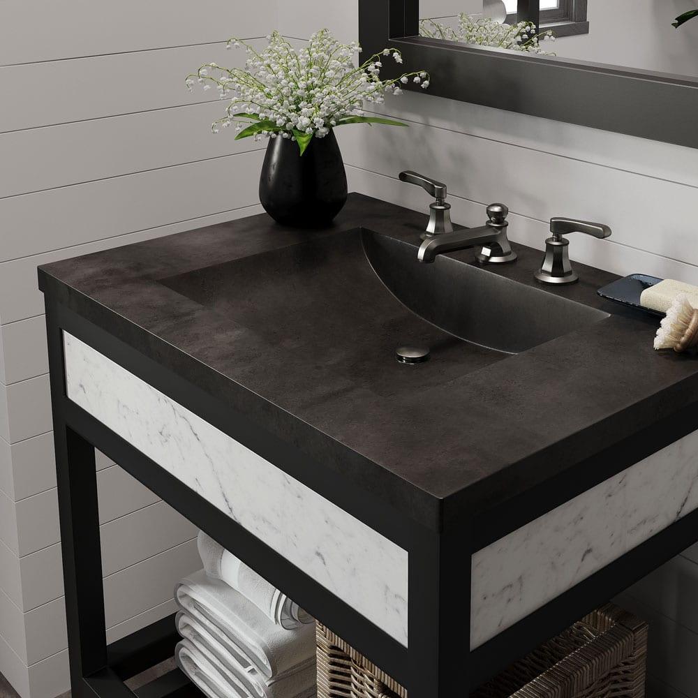 marble bathroom sinks image of