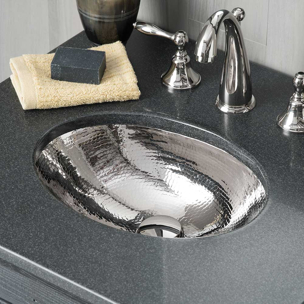 baby classic 15 75 inch hammered copper bathroom sink native trails