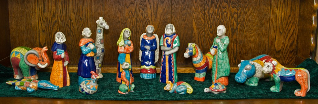 Raku Pottery Nativity From South Africa The Garding