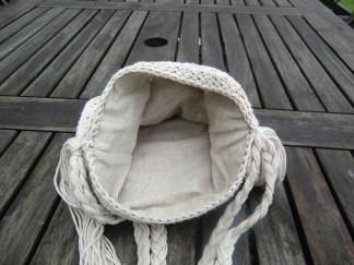 doublure sac en crochet