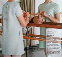 patron mini robe burda 2013