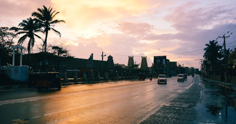 Sunset in Galle: A Surreal Evening