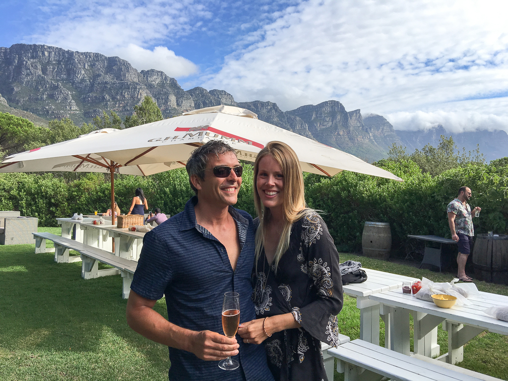 Martin & Erin in Cape Town. Sol Salute Travel Blog