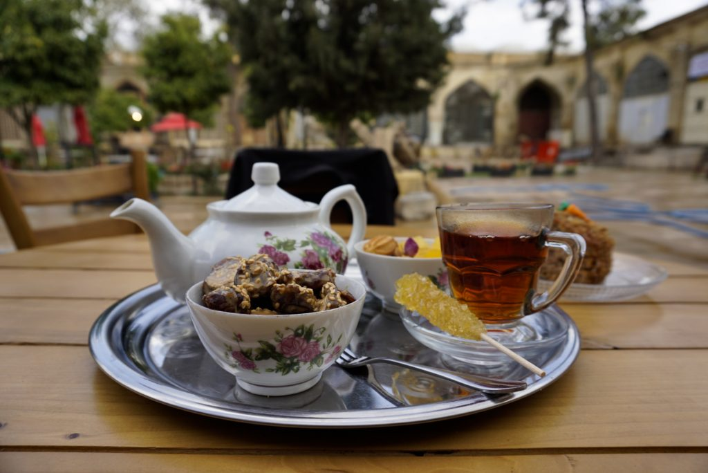 Tea in Shiraz, Iran - Experiencing the Globe
