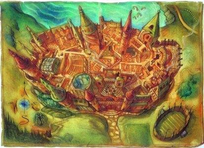 Mapa de Hogwarts