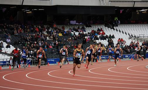 4x100m relay