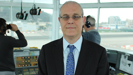 Trevor Hammond, General Manager ATC at Gibraltar Airport