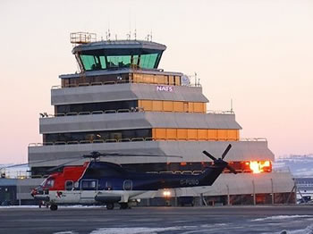 Picture of Aberdeen Tower: Aberdeen is the world's busiest heliport.