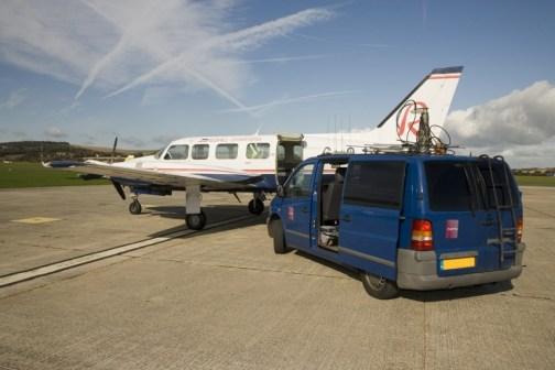 Aircraft&van