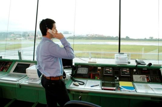 A Coruña air traffic control