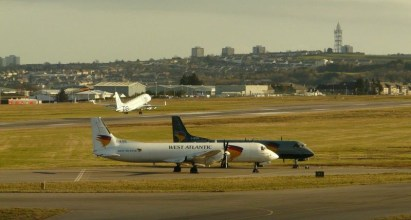 Fixed wing aircraft at Aberdeen