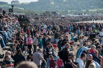 Crowds at Scottish Airshow 2015