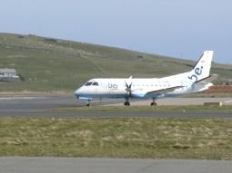 Logan Air (flying on behalf of FlyBe) Saab 340