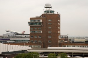 The old control tower