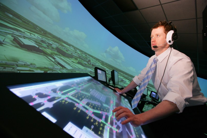 Dale Reeson-air traffic controller - heathrow simulator