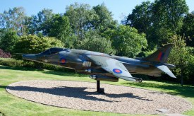 The Harrier back in place at Swanwick Control Centre
