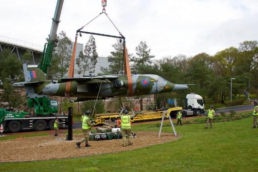 Harrier taken from Swanwick