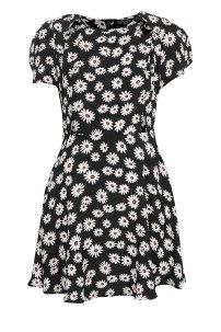 Topshop Petite Daisy Print Dress