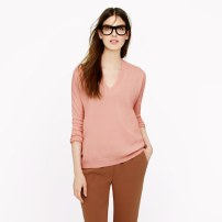 """The perfect cashmere """"Boyfriend Sweater"""" from J. Crew"""