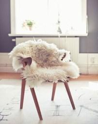 Warm & fuzzy meets mid-century mod