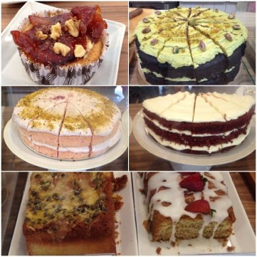 3. Selection of cakes galore at Maple & Market!