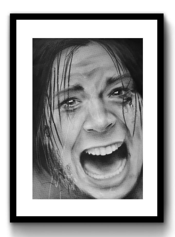 Screaming Girl, 2019, 420mm x 594mm