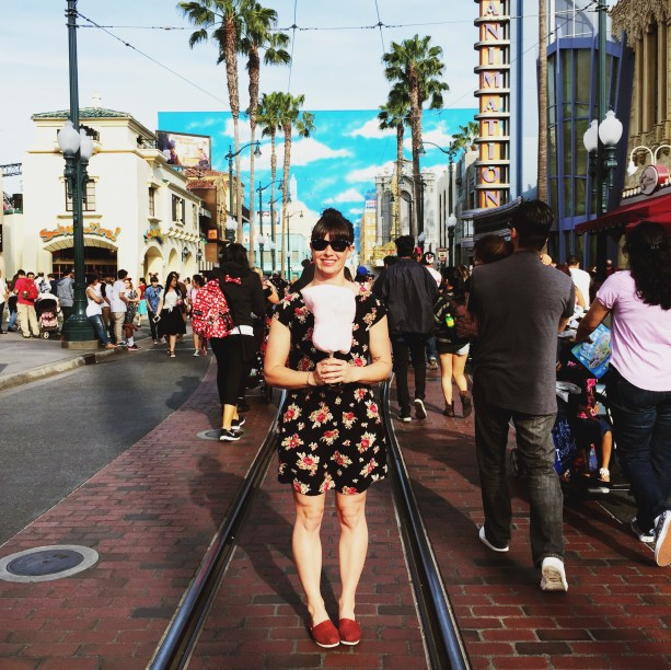 Nat in Hollywood Land CA Adventure // Nattie on the Road