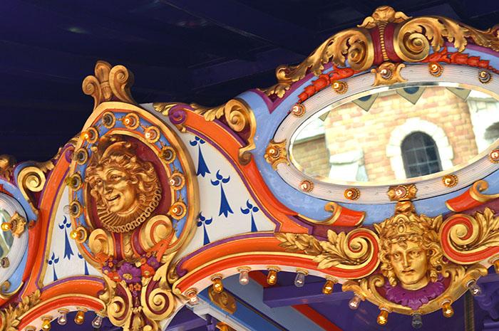 Merry Go Round Disneyland // Nattie on the Road