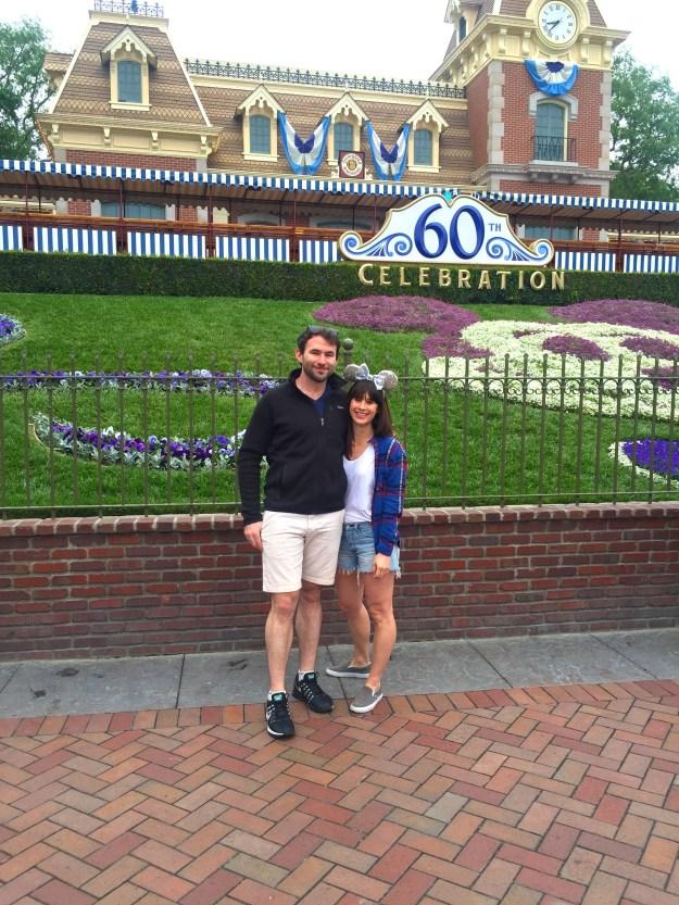 Nat & Rob at Disneyland // Nattie on the Road