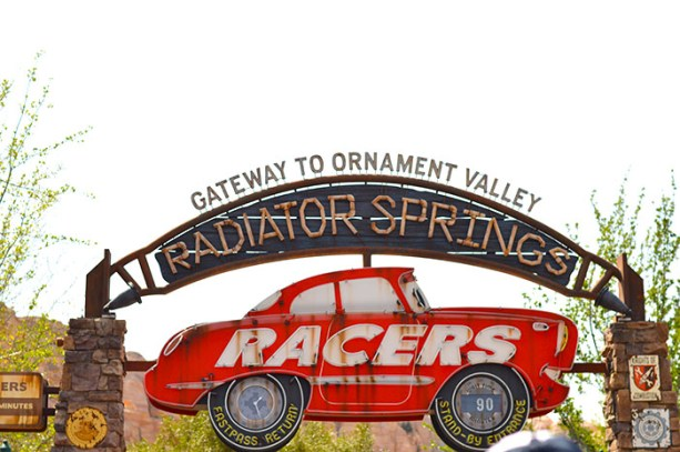 Radiator Springs CA Adventure // Nattie on the Road